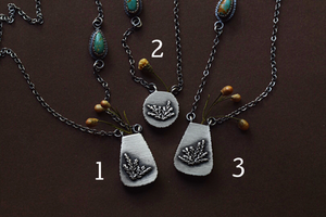Fern Vase Necklaces