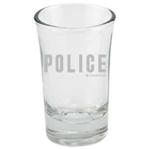 Test Ready Pro - Police  Shot Glass