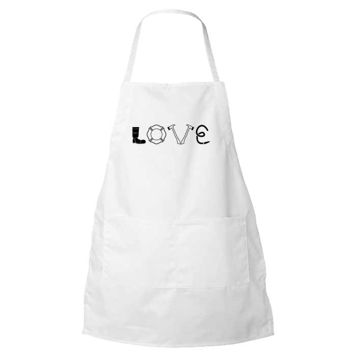 Firefighter Love - Apron