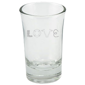 Firefighter Love - Shot Glass