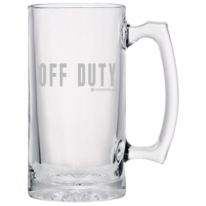 Test Ready Pro - Off Duty - Beer Mugs