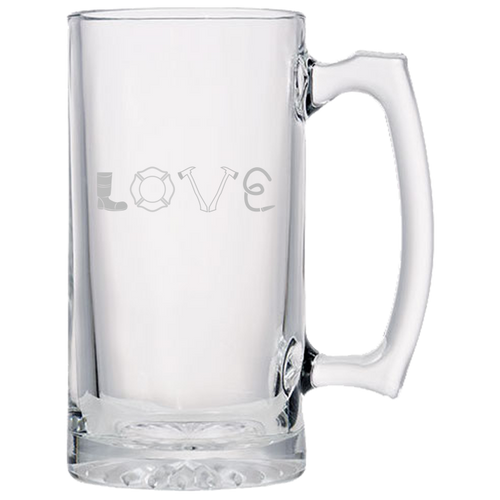 Firefighter Love - Beer Mugs