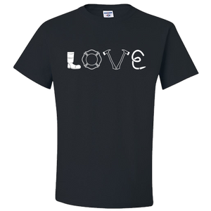 Firefighter Love - T-Shirt
