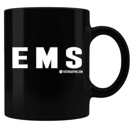 Test Ready Pro - EMS - Coffee Mug - Black