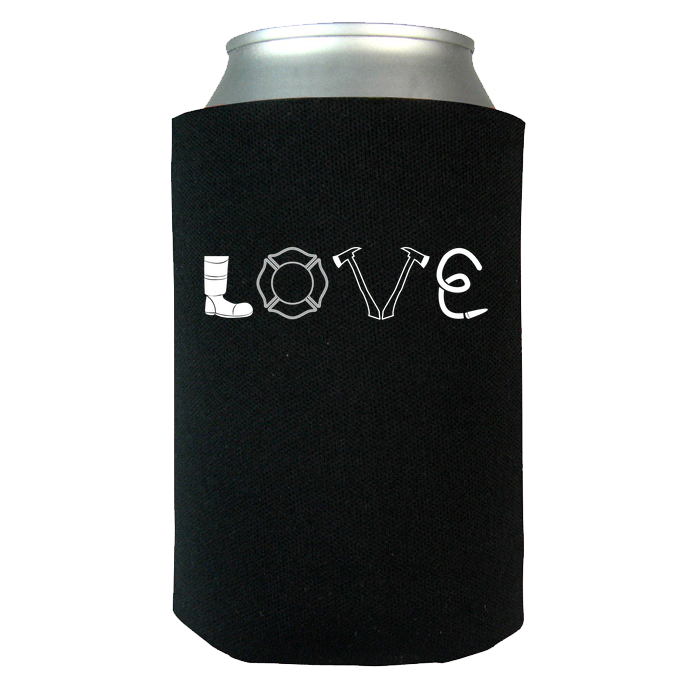 Firefighter Love - Koozie