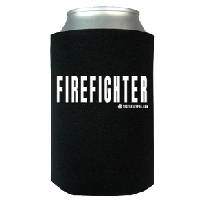 Test Ready Pro - Firefighter Koozie