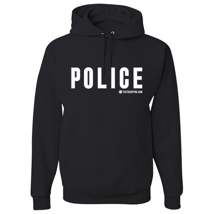 Test Ready Pro - Police Hoodie