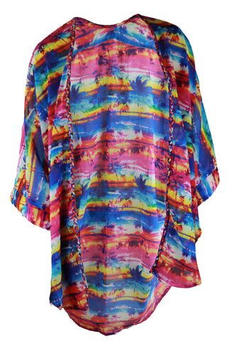 Coogee Kaftan - Multi Colour