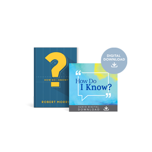 Special Offer: How Do I Know? book and Audio Digital Download