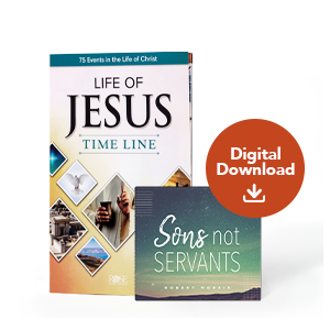 Sons Not Servants Special Offer Reference Guide with Audio Digital Download