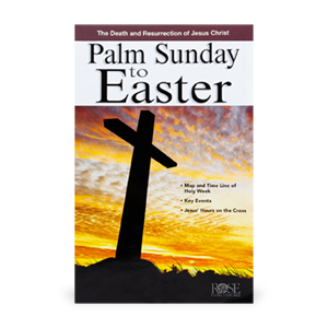 Special Offer Palm Sunday to Easter Reference Guide