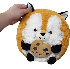 "Mini Fox Holding a Cookie(7"")"
