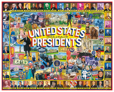 US Presidents Collage 1263