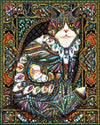 Jeweled Cat 1446