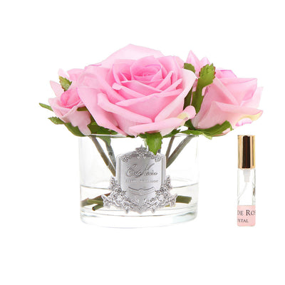 Five Rose French Pink Clear Glass GMR66