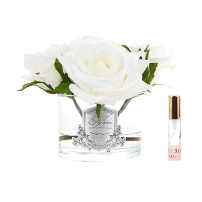 Five Rose in White Box- Ivory White GMR61