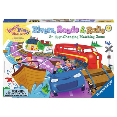 Ravensburger Rivers, Roads & Rails 22053