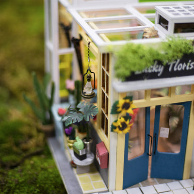Dollhouse Kit-Lucky Florist 03W