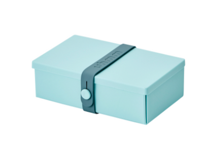 No. 01 Mint Green Box/Petrol Strap