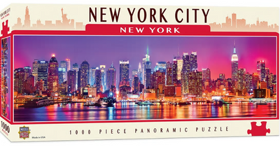 Cityscapes - New York 1000 Piece Panoramic