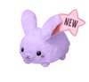 "Mini Fluffy Bunny-Purple (7"")"