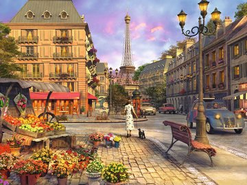 Ravensburger Vintage Paris 16309