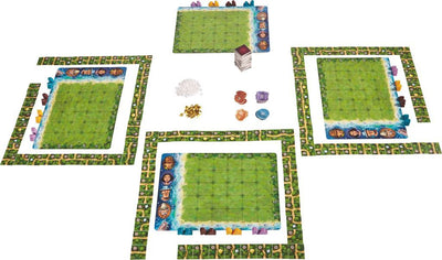 HABA Karuba - Tile Laying Puzzle Game 300932