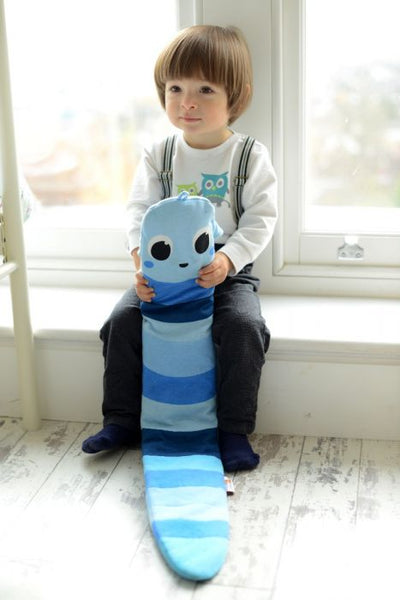 Hot water bottle Warm Worm Blue Ben   $48.99    15%off