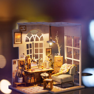 Dollhouse Kit-SOHO Time 01