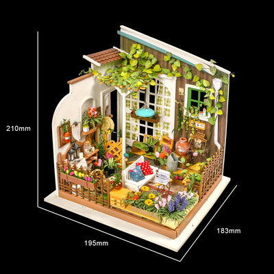 Dollhouse Kit- Miller's Garden 108