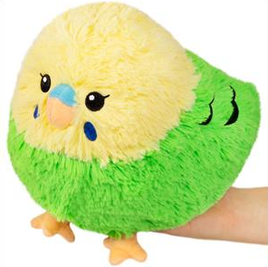 "Mini Green Budgie (7"")"