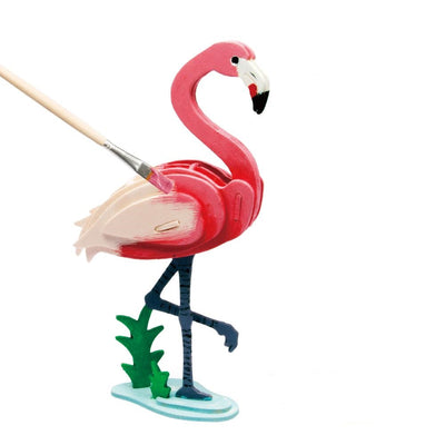 3D Painting Puzzle-Flamingo-206 $11.00   50%off