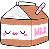 "Mini Comfort Food Chocolate Milk Carton (7"")"