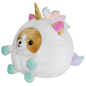"Mini Undercover Corgi in Unicorn (7"")"