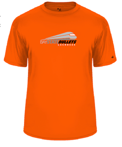 BAY STATE BULLETS - YOUTH ORANGE BADGER TEE