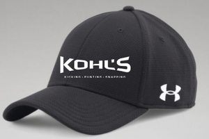 KOHL S - BLACK UA HAT – 3STEP Sports LLC 7b659c810b29
