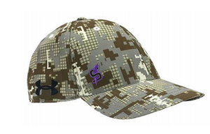 Storm Lax UA Sale-Camo Fitted Hat