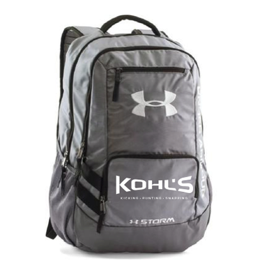 KOHL'S - GREY UA BACKPACK