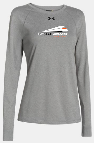 BAY STATE BULLETS - YOUTH LONG SLEEVE LOCKER TEE