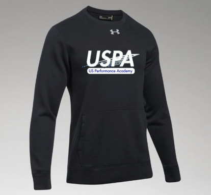 USPA MEN'S HUSTLE FLEECE CREW