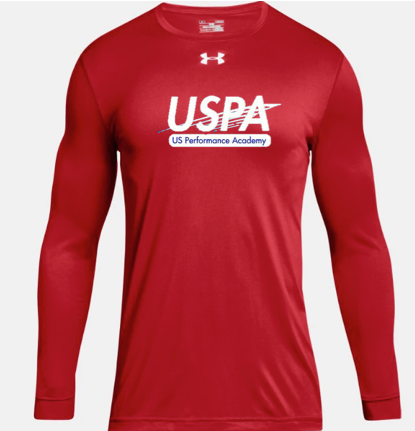 USPA MEN'S LONG SLEEVE LOCKER TEE