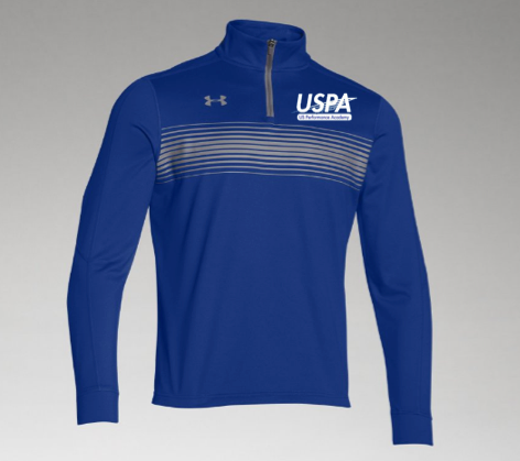 USPA MEN'S NOVELTY 1/4 ZIP