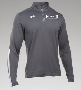 KOHL'S - GREY UA QUALIFIER 1/4 ZIP