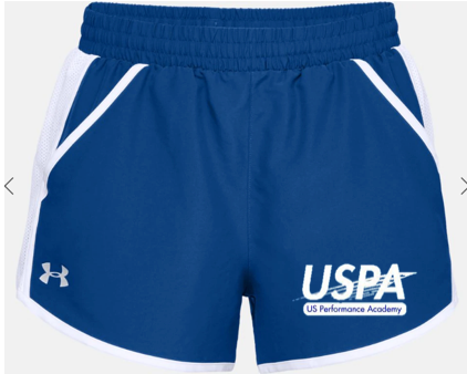 USPA WOMEN'S FLY BY SHORT