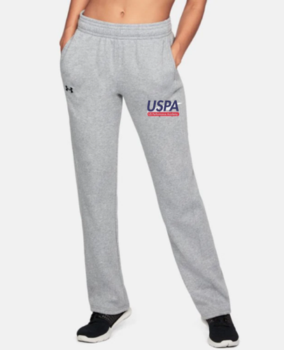 USPA WOMEN'S HUSTLE FLEECE PANT
