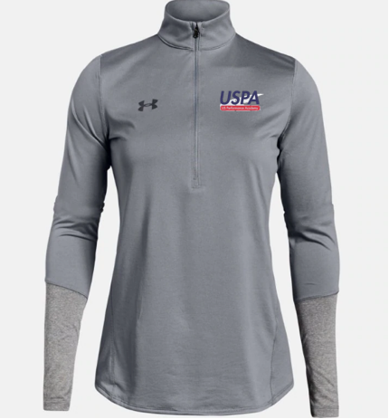 USPA WOMEN'S LOCKER 1/4 ZIP