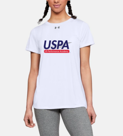 USPA WOMEN'S LOCKER TEE