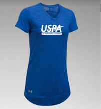 USPA WOMEN'S STADIUM TEE