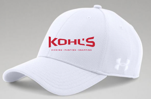 KOHL S - WHITE UA HAT – 3STEP Sports LLC d61e6f27c8d0