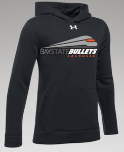 BAY STATE BULLETS - YOUTH HUSTLE FLEECE HOODY